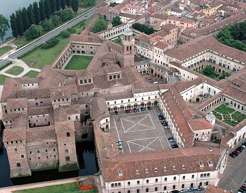 Mantova su gryllo73 for La corte dei gonzaga mantegna