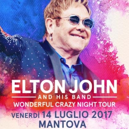 Elton John in concerto a Mantova