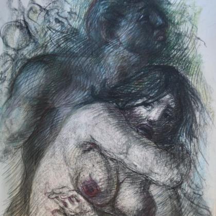 Federico Bellomi,  Colore segno, dai paesaggi alle opere sacre